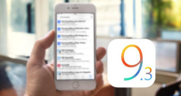 جیلبریک iOS 9.3.3
