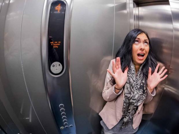 آزمایش فکری آسانسور