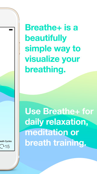 نرم افزار Breathe+ برای آی او اس