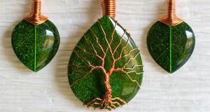 از تماشای این جواهرات که از فلزات بازیافت شده ساخته شدهاند لذت ببرید