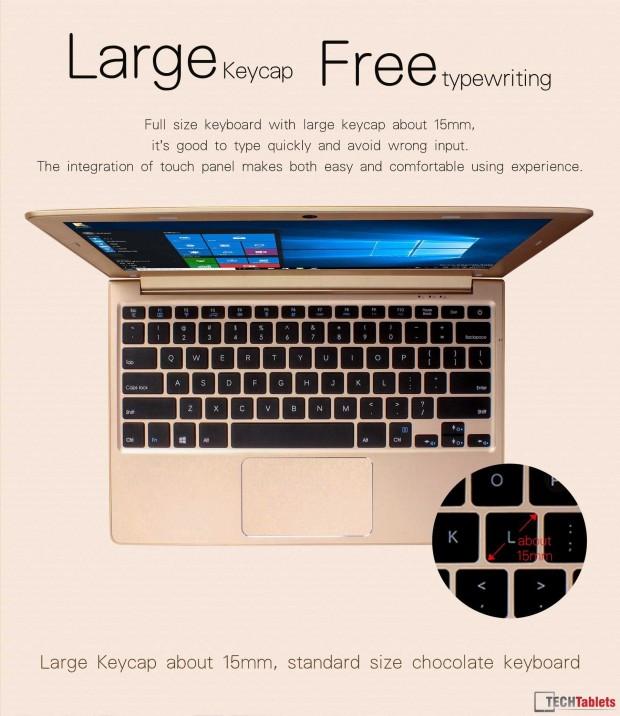 لپتاپ EZBook Air جامپر؛ مک بوکی با قیمت زیر ۳۰۰ دلار که ویندوز بر روی آن نصب میشود!