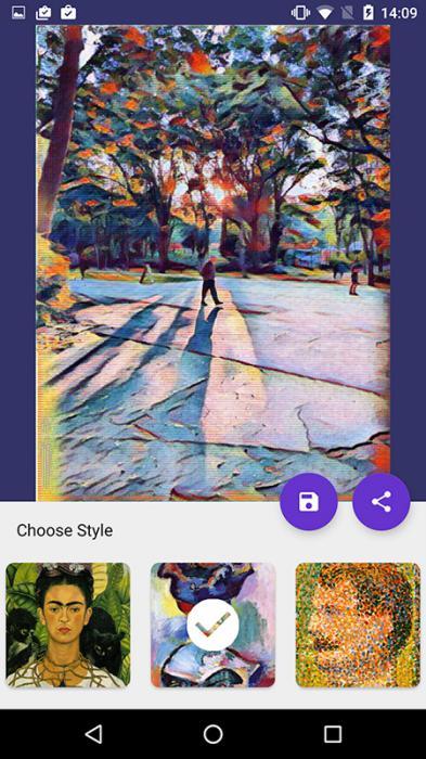 Deep Art Effects for Android 1 - بهترین برنامه های تبدیل عکس به نقاشی مشابه Prisma برای اندروید و آی او اس