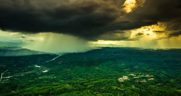 تصاویری از نمای بالا از طبیعت زیبای بنگلادش در جنوب آسیا
