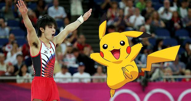 قبض ۵ هزار دلاری ژیمناست ژاپنی به دلیل بازی موبایل پوکمون گو در المپیک برزیل!