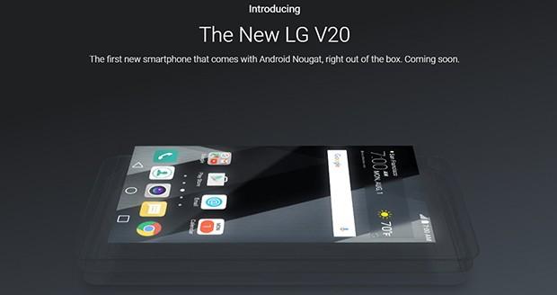 گوشی هوشمند LG V20