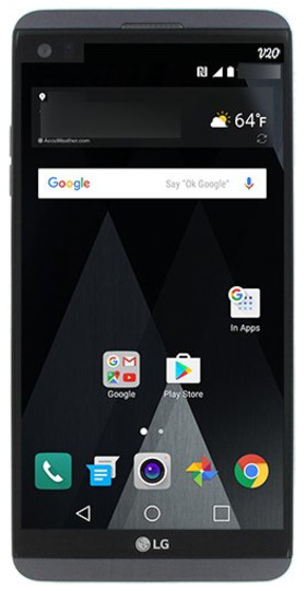 رندر جدیدی از گوشی هوشمند ال جی وی 20 به بیرون درز کرد
