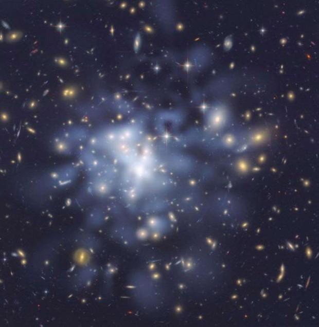 کهکشان نامرئی ماده تاریک