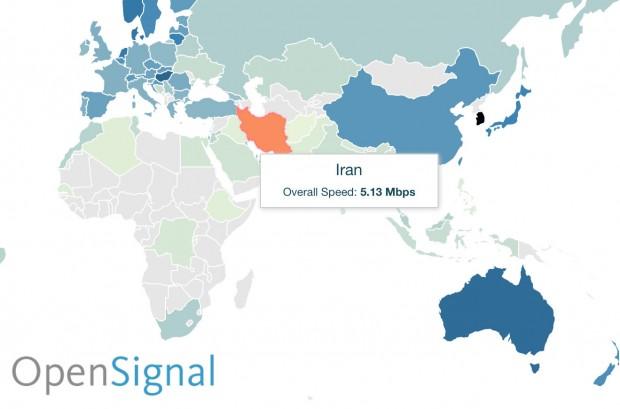 سریع ترین اینترنت جهان متعلق به کرهی جنوبی است؛ لیتوانی و مجارستان در ردههای بعدی