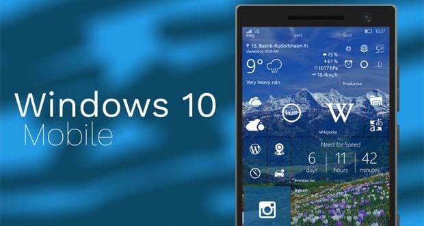 عرضهی آپدیت سالانه ویندوز ۱۰ موبایل توسط مایکروسافت آغاز شد