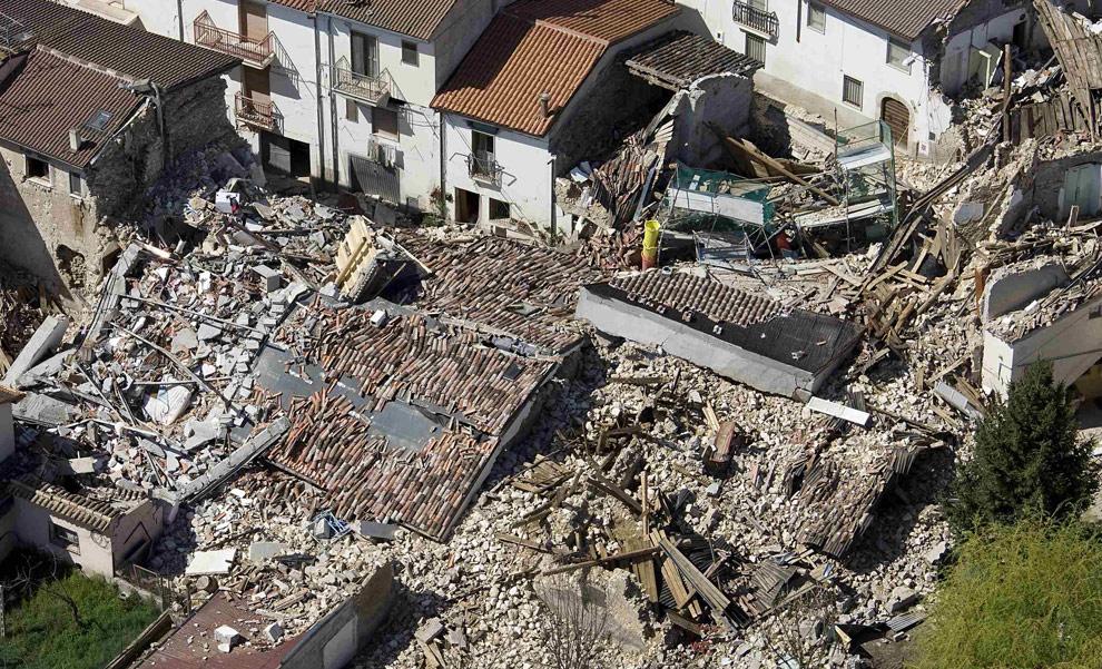 قربانیان زلزله ایتالیا