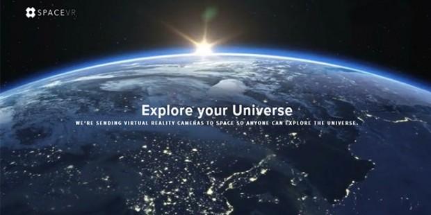فضای خارج از جو زمین را با اولین ماهواره با دوربین واقعیت مجازی تجربه کنید