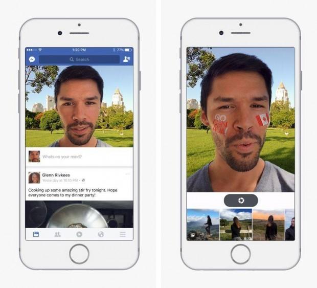 فیسبوک فیلترهای اسنپ چت را به مسنجر خود اضافه خواهد کرد