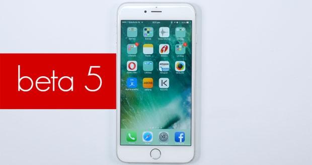 اپل بتای پنجم آی او اس ۱۰ را برای توسعه دهندگان خود عرضه کرد
