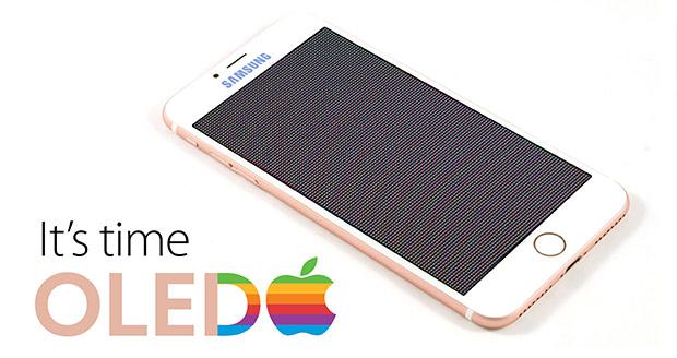 صفحه نمایش OLED نسخه سفارشی آیفون ٢٠١٧