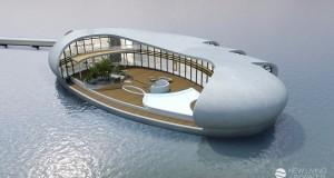 خانه مسکونی روی آب