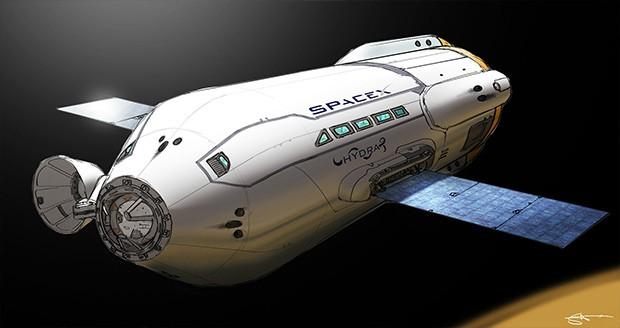 موتور راکت مأموریت سفر به مریخ