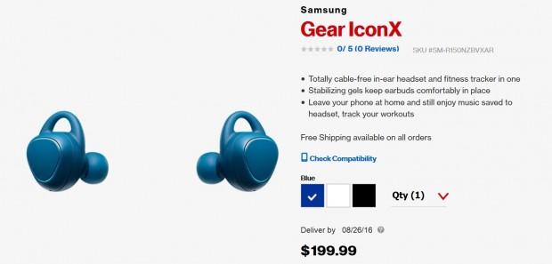 هدفون های بلوتوثی گیر IconX