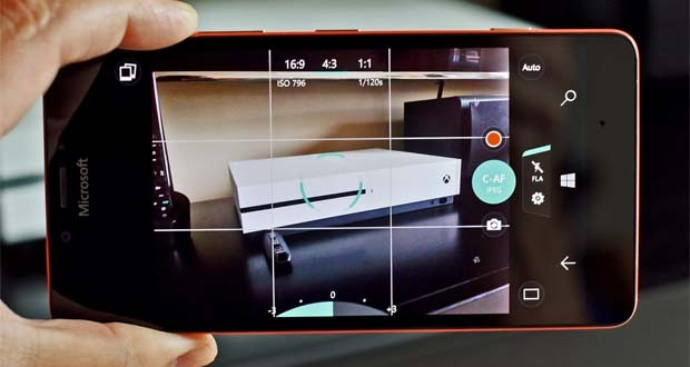 نرم افزار دوربین ویندوز ۱۰ موبایل از این پس از تصاویر پانوراما پشتیبانی خواهد کرد