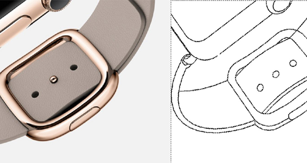 استفادهی سامسونگ از تصاویر اپل واچ برای ثبت یک پتنت جدید!