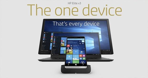 گوشی اچ پی Elite X3