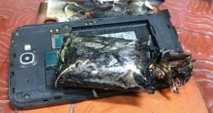 انفجار گلکسی نوت 2 در پرواز هند