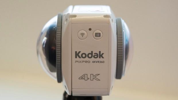 دوربین کداک پیکس پرو 4KVR360 ؛ فیلم برداری 4K و 360 درجه با دو لنز