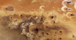 چاله های مریخ نواحی بالقوه برای حیات