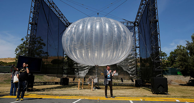 بالن اینترنت گوگل با استفاده از هوش مصنوعی میتواند هفتهها در مکانی مستقر باشد