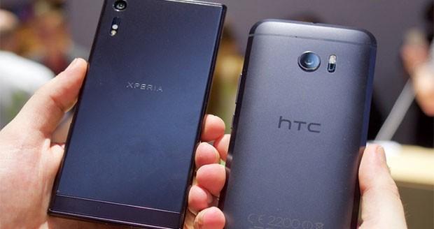 سونی اکسپریا ایکس زد در برابر HTC 10