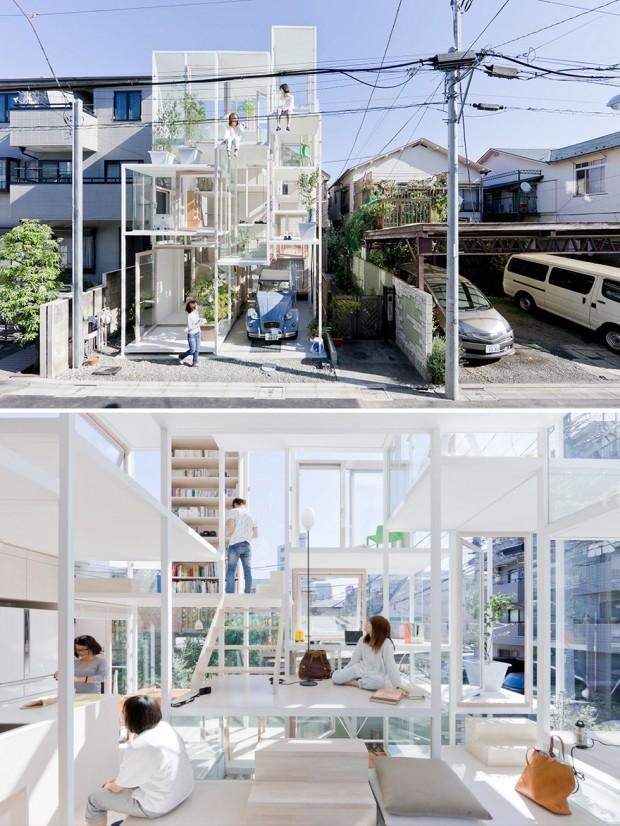 معماری مدرن ژاپنی