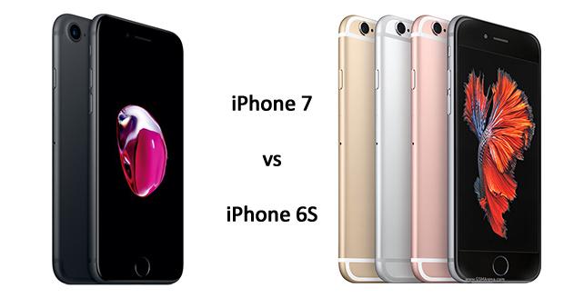 مقایسه آیفون 7 و آیفون 6 اس