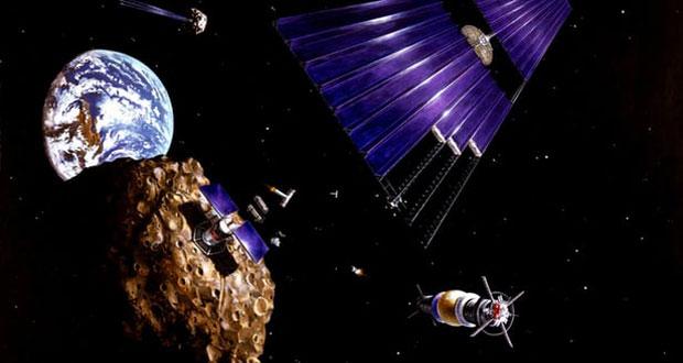 معدنکاری سیارک ها