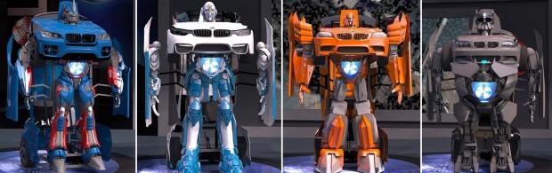ربات تبدیل شونده واقعی