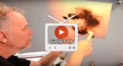 تماشا کنید: هنر نقاشی با آتش توسط اسپازوک