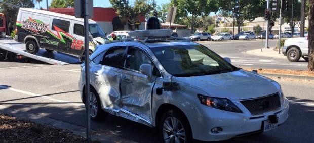 ماشین خودران گوگل