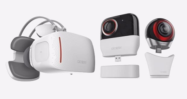 هدست واقعیت مجازی آلکاتل Vision VR در IFA 2016 رونمایی شد
