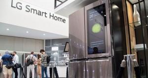 یخچال هوشمند ال جی با پشتیبانی از ویندوز 10 رونمایی شد