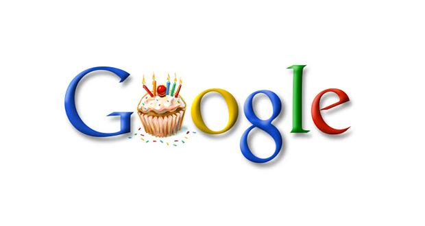 جشن تولد گوگل برگزار شد! گوگل حتی روز تولد خودش را هم نمیداند