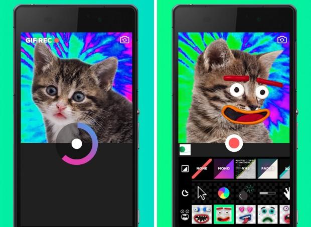 اپلیکیشن Giphy Cam برای اندروید عرضه شد + لینک دانلود (1)