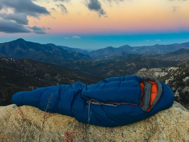 تجهیزات سفر ، کیسه خواب بدون زیپ NoZipp Sleeping Bag