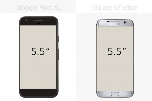 مقایسه گوگل پیکسل ایکس ال و سامسونگ گلکسی اس 7 اج (2)
