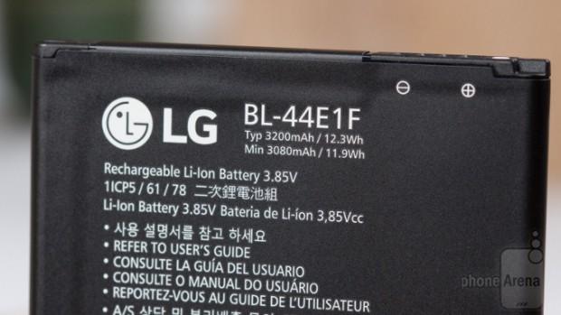 نتایج تست باتری ال جی وی 20 منتشر شد + مقایسه با دیگر رقبا (3)