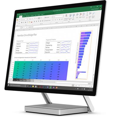 کامپیوتر مایکروسافت سرفیس استودیو