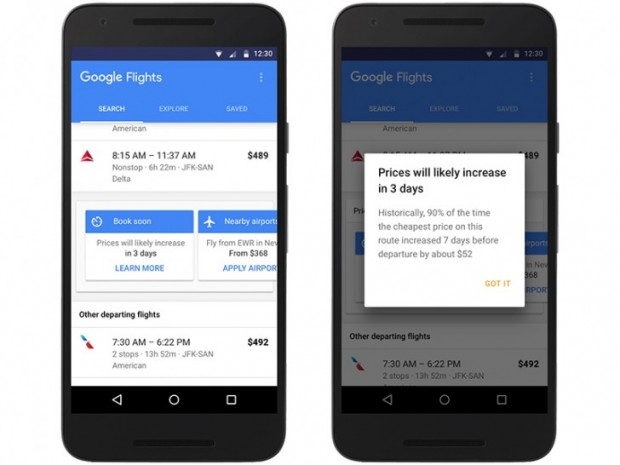 با سرویس پرواز گوگل ارزان تر سفر کنید