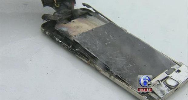 انفجار آیفون ۶ پلاس در جیب شلوار یک دانشجوی آمریکایی!