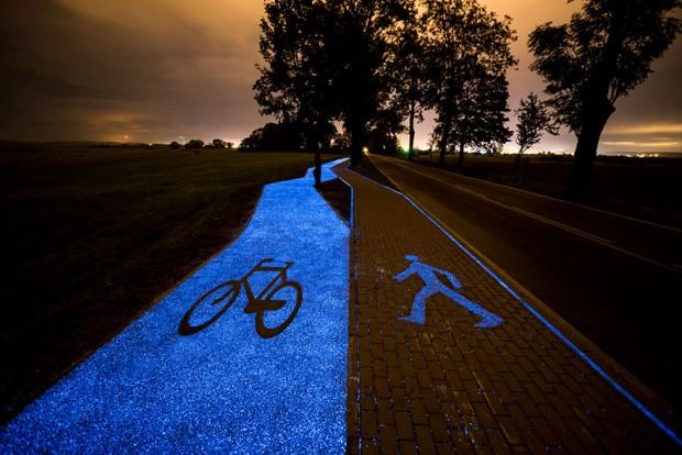 مسیر درخشان دوچرخه سواری