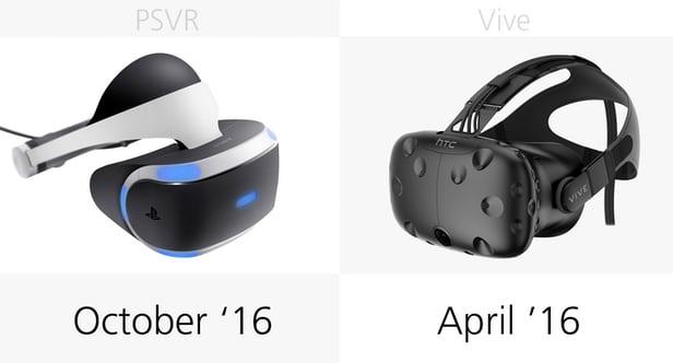 تفاوت هدست های واقعیت مجازی