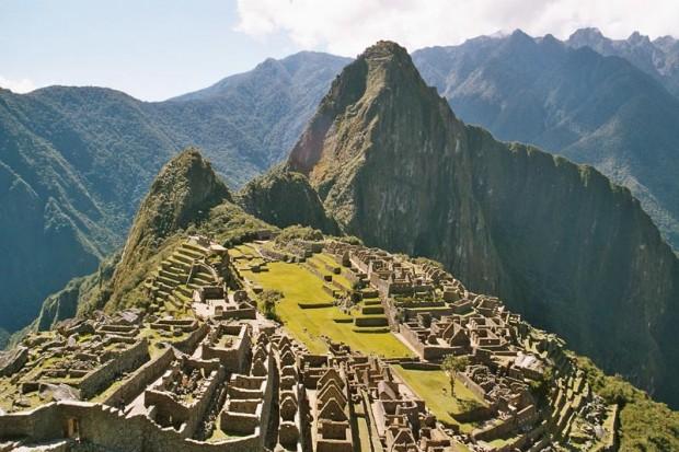 خرابههای باقی مانده از قوم اینکا