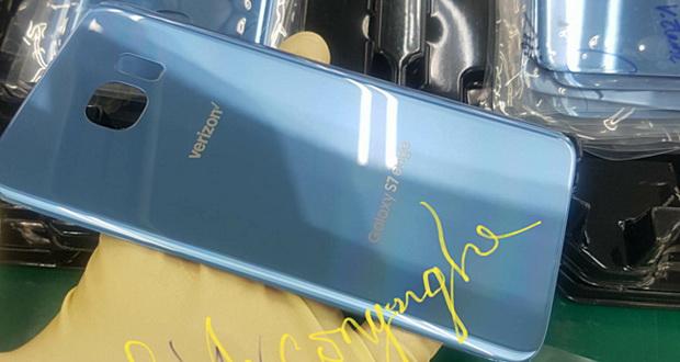 نسخه آبی مرجانی گلکسی اس 7 اج