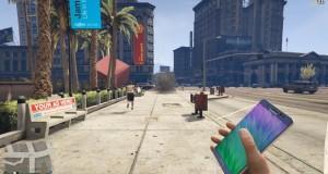 ویدئو گلکسی نوت 7 در بازی GTA V